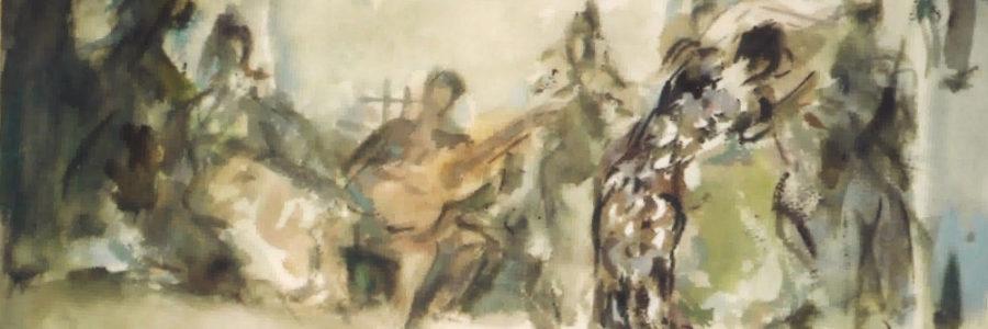 En el tablao flamenco - Pedro Mozos